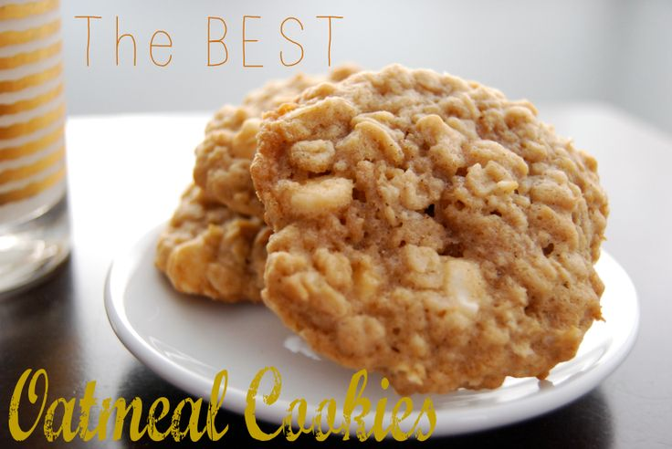 ... Recipes | Pinterest | Best Oatmeal Cookies, Best Oatmeal and Oatmeal
