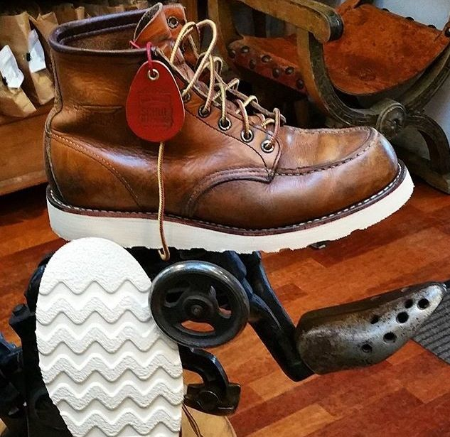 Resoled Red Wing boots