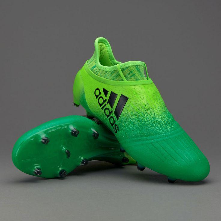 adidas X 16+ Purechaos FG - Solar Green/Core Black/Core Green