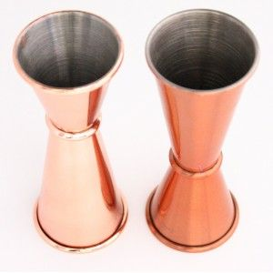 47 Ronin Jigger Japan Style - Copper  Verkrijgbaar bij www.apssupply.nl  #cocktail #tools #bar #glas #mixology