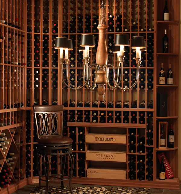 Classical Style WIne Cellar with Shelving for Wooden Wine Box Cases & 59 best Wine cellar... I will have in the future images on Pinterest ...