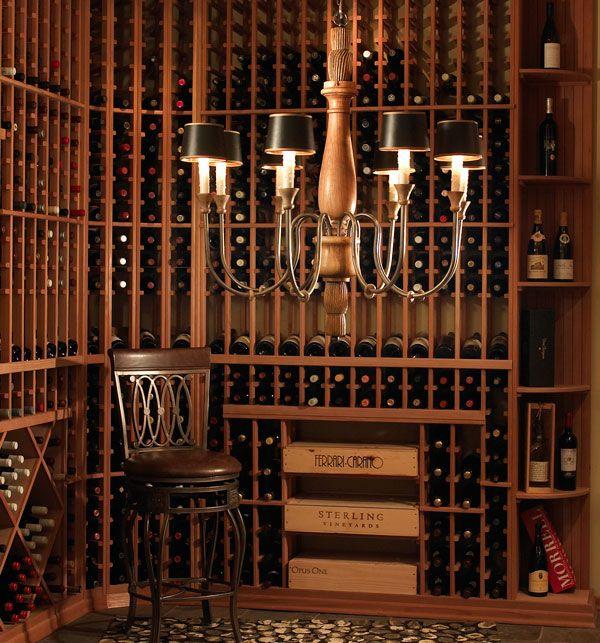 Wine cellar, wow!