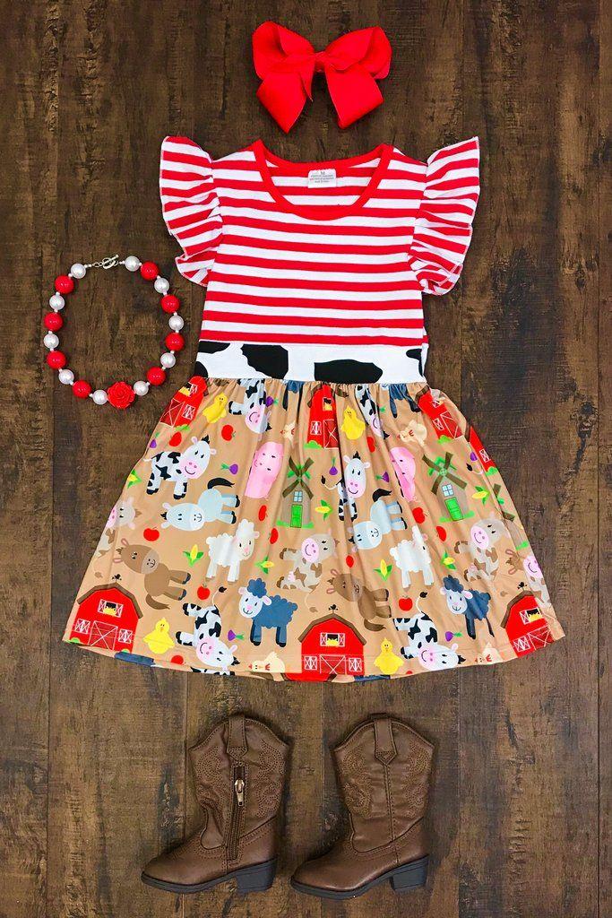 Farmer's Daughter Dress