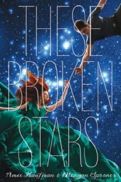 ♥ These Broken Stars by Amie Kaufman & Meagan Spooner ♥ Reviewed by Queen Ella Bee Reads ~ #SF #YA ~ I'm pretty sure my jaw is still on the floor from all the twists and turns in this book. This is just the swooniest and least predictable amazing sci-fi book I've read in the longest thing.