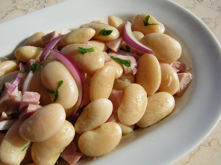 insalata di fagioli di spagna