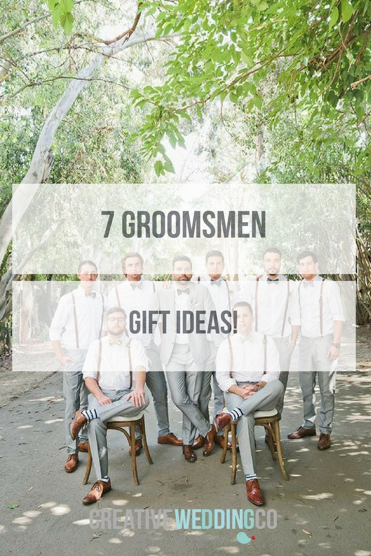 Groomsmen gifts are a way to show your appreciation - to help you with a few ideas, we've rounded up our top groomsmen gift ideas...