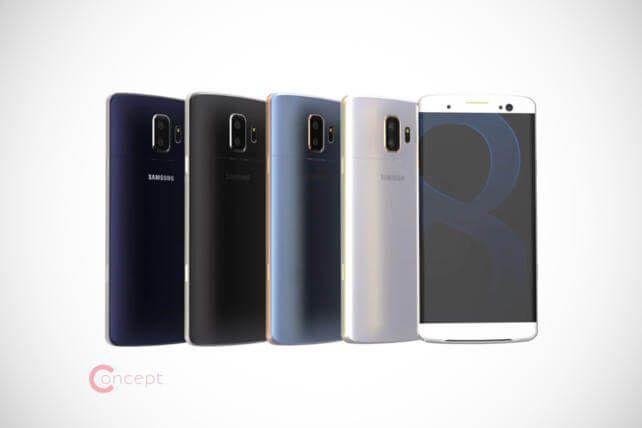 Samsung Galaxy S8: Riesiger Speicher und persönliche Assistenten Bixby und Kestra