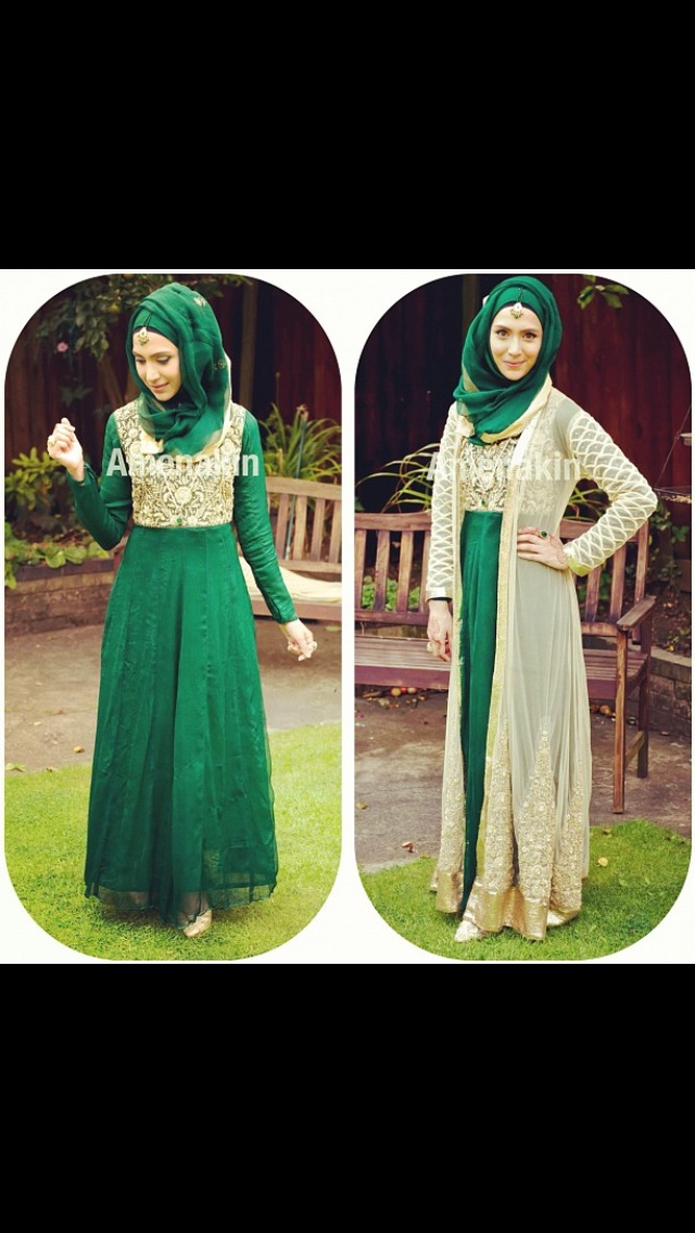 Indian maxi with hijab