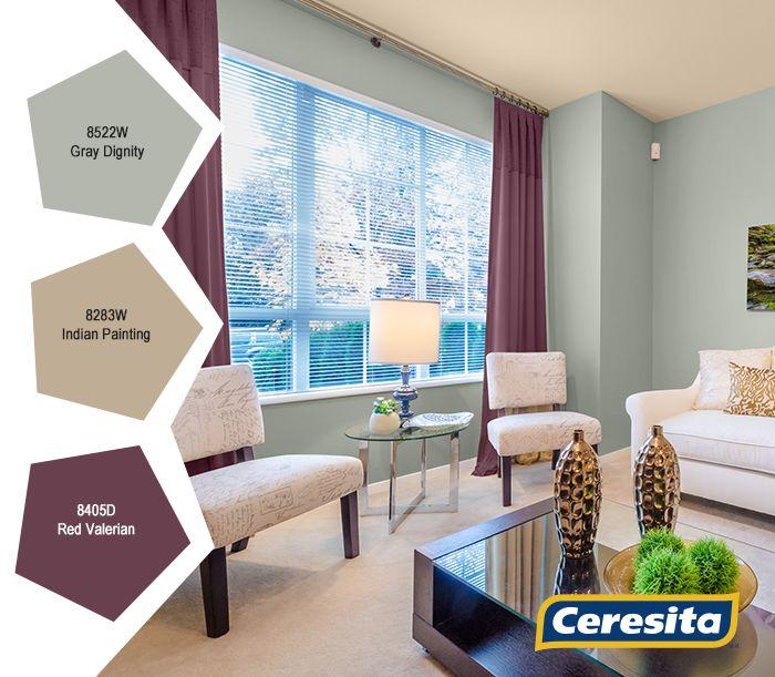 #CeresitaCL #PinturasCeresita #color #living #pintura #decoración #espacios *Códigos de color sólo para uso referencial. Los colores podrían lucir diferentes, según calibrado de su monitor