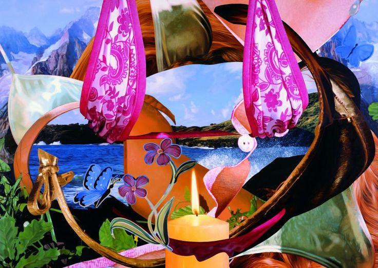 """""""Candle"""" von Jeff Koons ist ab sofort im Rahmen der Ausstellung """"Kerze""""  im Museum Frieder Burda in Baden-Baden zu sehen."""
