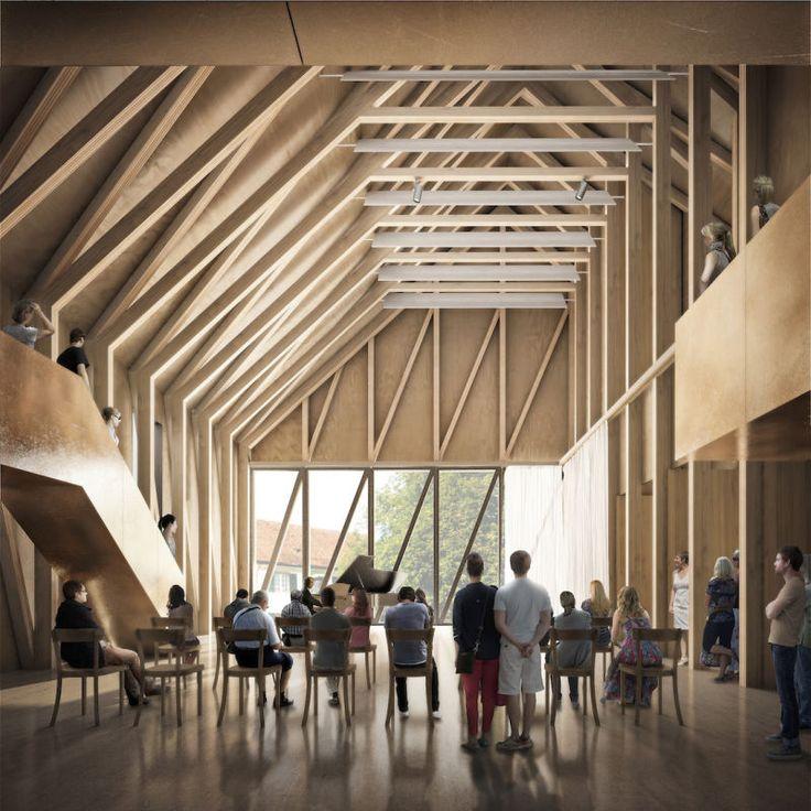 Greifensee Cultural Centre – Switzerland | Jonathan Tuckey Design