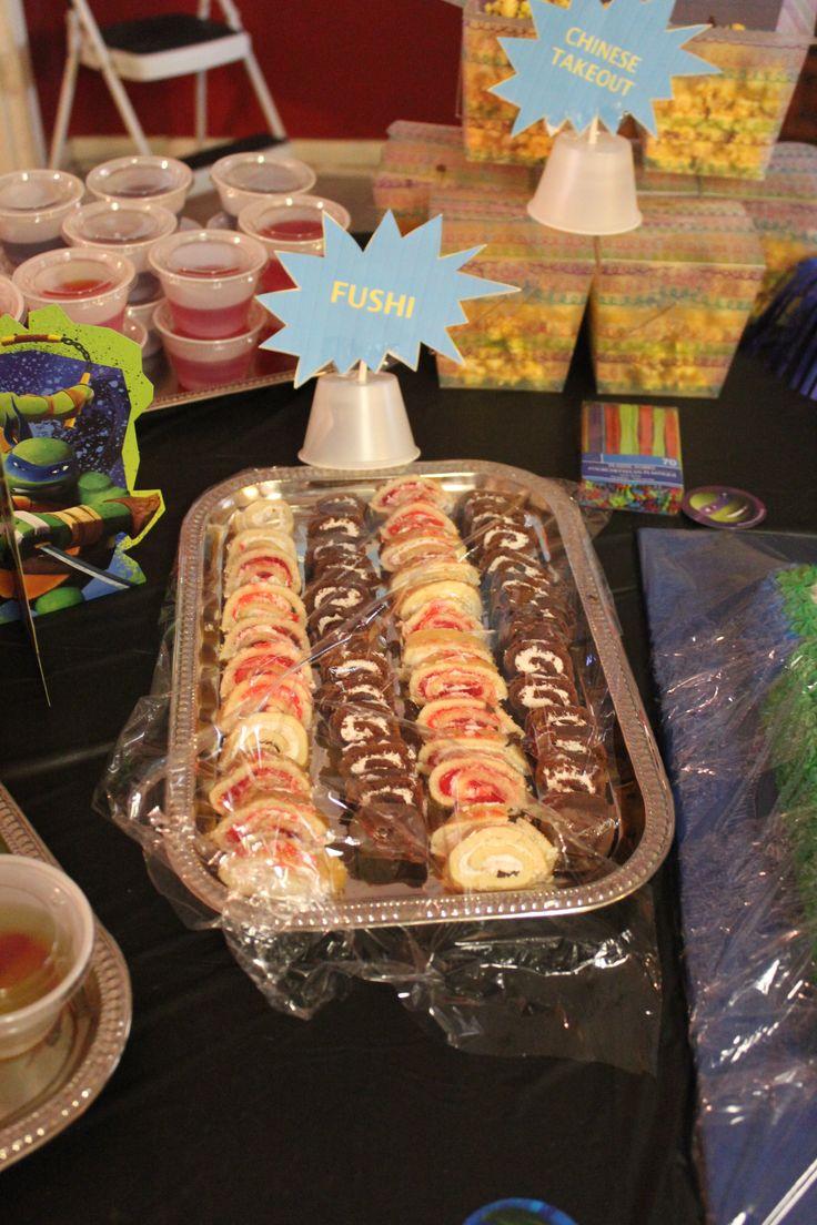 Ninja Turtle party food   Party Ideas   Pinterest   Ninja ...