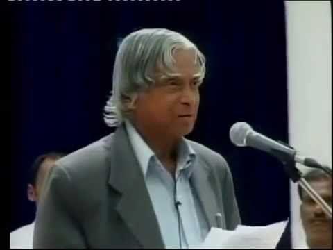 APJ Abdul Kalam Last Inspirational Speech at SRM University
