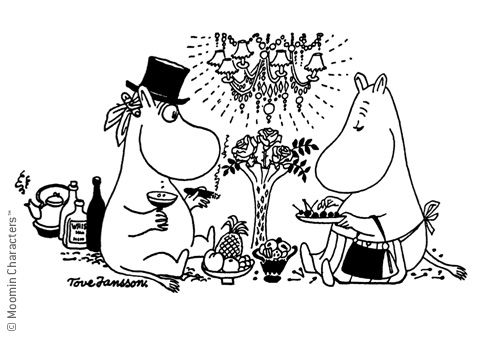 Moomins cookbook.