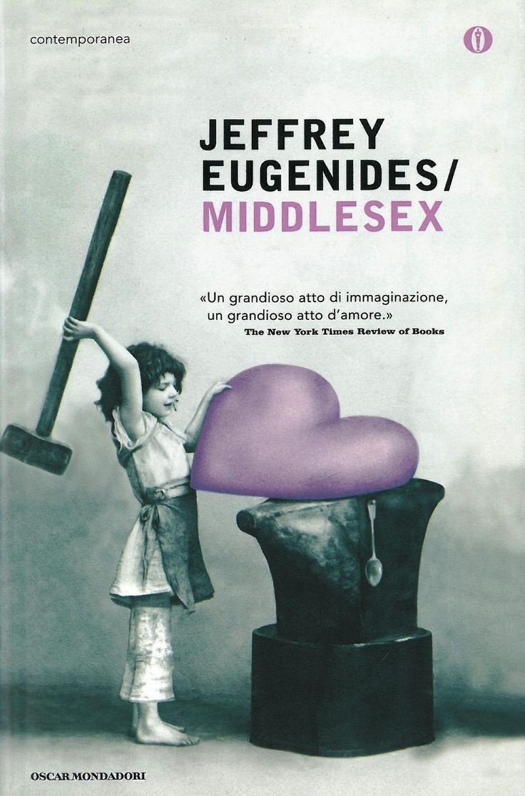 "Jeffrey Eugenides - ""Middlesex""  (cover variation)"