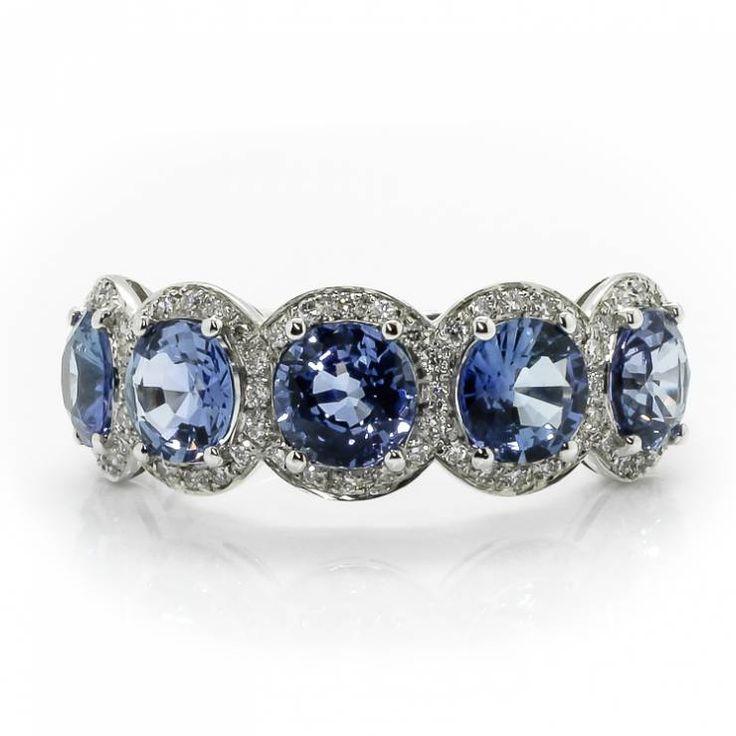 Eccezionale Oltre 25 fantastiche idee su Anelli a fascia con diamanti su  KQ21