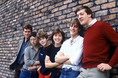 ALFRESCO 1983-84 / Stephen Fry, Hugh Laurie, Emma Thompson, Ben Elton and Siobhan Redmond.