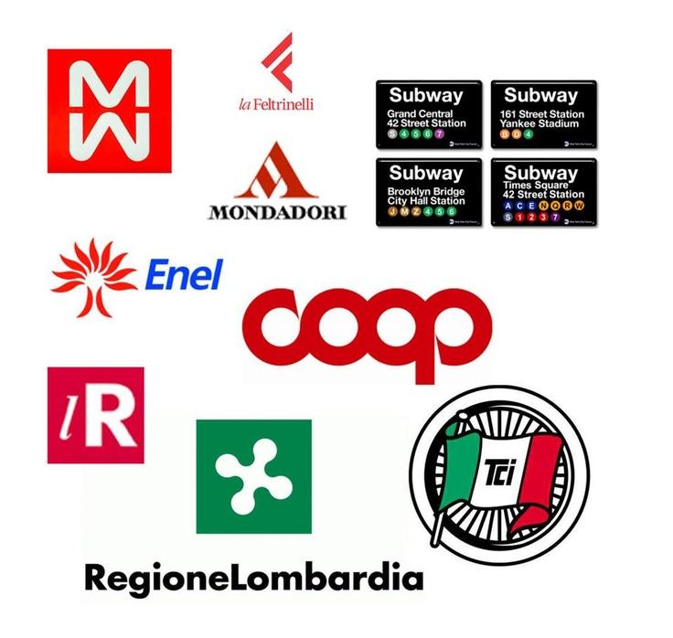 Bob Noorda, Logos