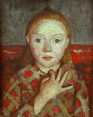 Paula Modersohn-Becker - Mädchenbildnis, 1905