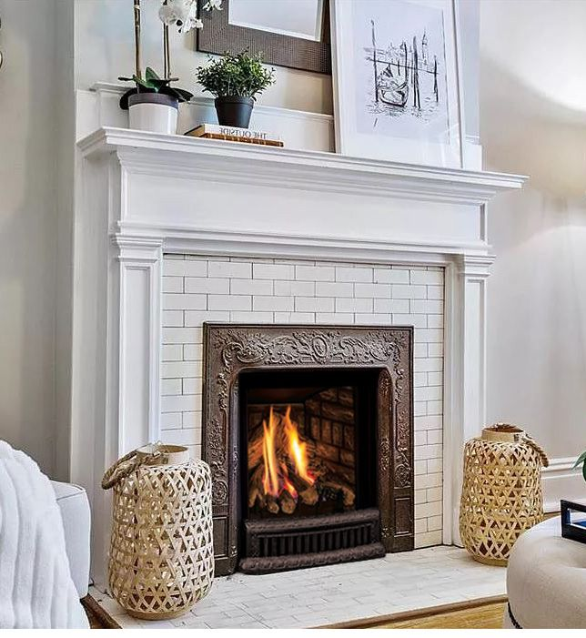 Q1 Small Gas Insert In 2020 Gas Insert Gas Fireplace Insert Fireplace Design