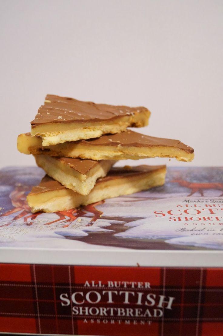 Ciasto milionera znane pod wieloma nazwami, między innymi takimi jak millionaire's slice, czy też caramel shotrbread to typowy szkocki w...