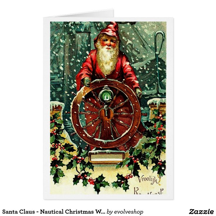 Santa Claus - Nautical Christmas Wishes