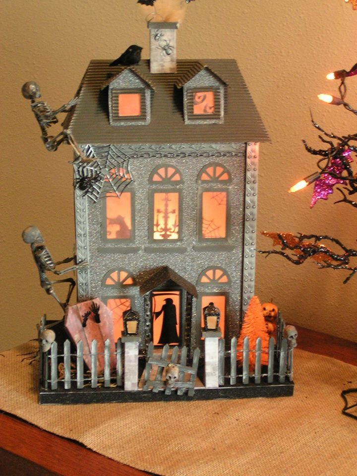 1654 Best Paper Amp Putz Houses Images On Pinterest