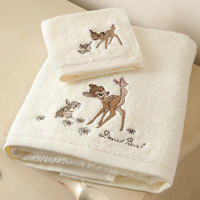 Disney Bambi Face Cloth, Natural | eBay