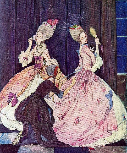 Cinderella--Lacing Them Up--Rie Cramer