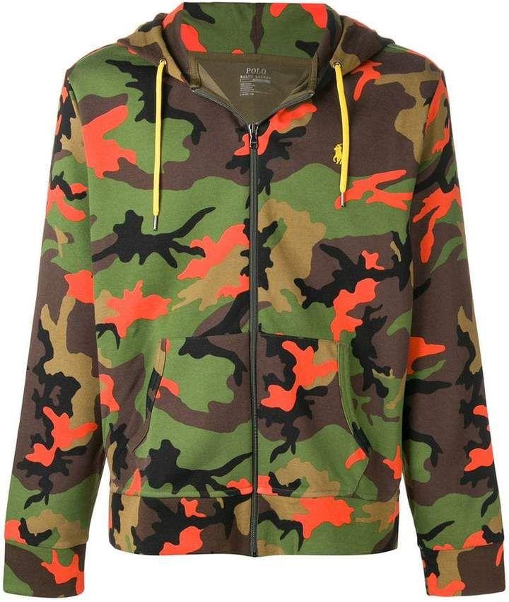 Polo Ralph HoodieCamo Print Lauren Camouflage O0ZnwN8XkP