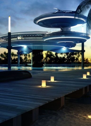 Its Called The Water Discus Underwater Hotel And It Should Be Built In Dubai Architects Of D