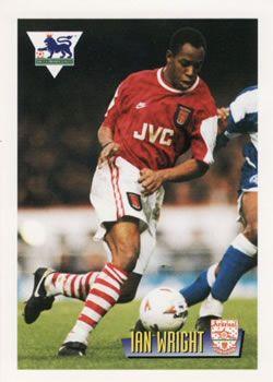 1996-97 Merlin's Premier League #3 Ian Wright Front