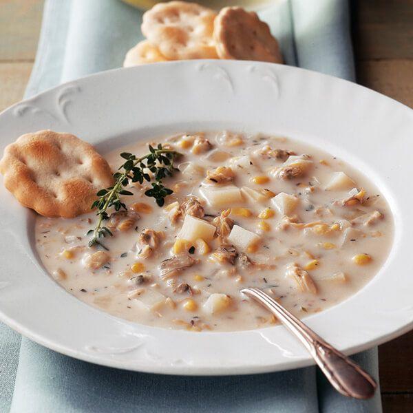 Creamy Corn & Clam Chowder Image