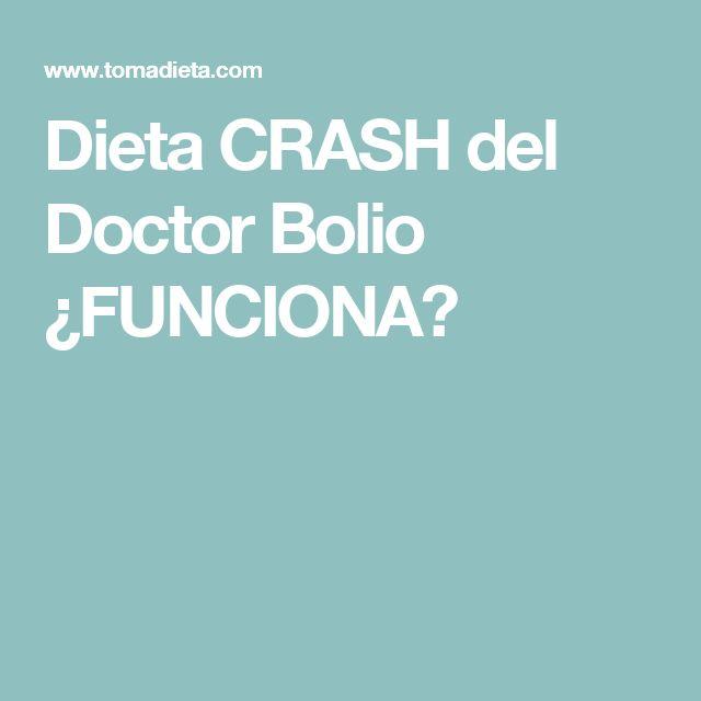 Dieta CRASH del Doctor Bolio ¿FUNCIONA?
