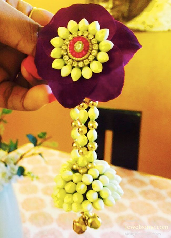 Flower jewellery bajuband design