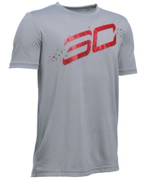 Under Armour Boys' Stephen Curry SC30 Graphic-Print T-Shirt  -