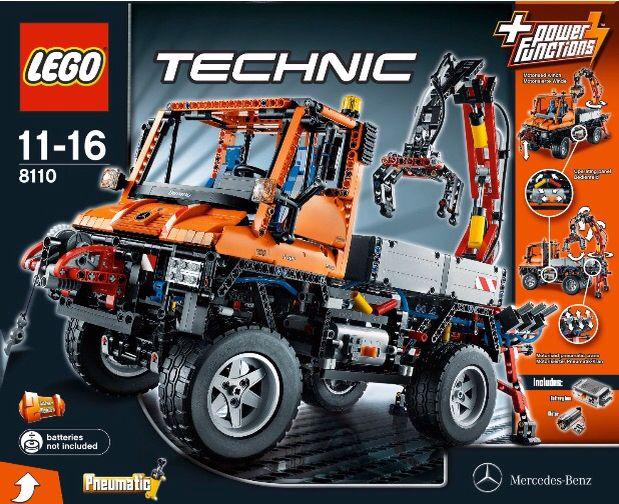 Lego 8110 Mercedes Benz Unimog