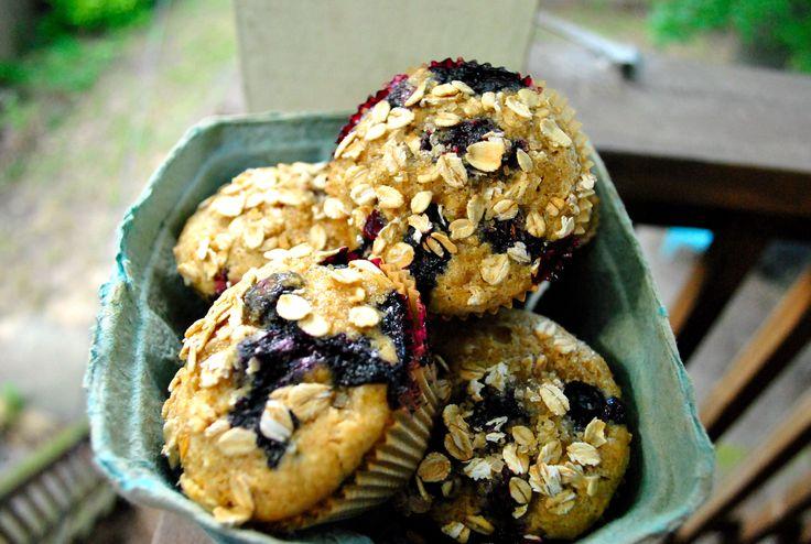 Vegan Blueberry Power Muffins   Gabby's Gluten-Free