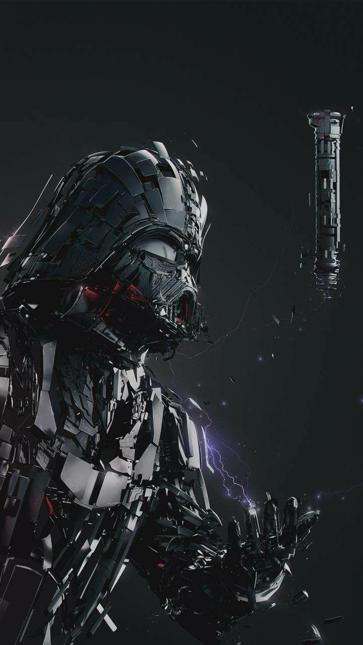 Darth Vader Art Lightsaber Concept