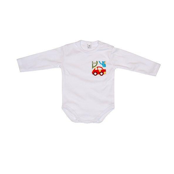Body niemowlęce AUTKA Long Sleeve Romper Cars https://fiorino.eu/