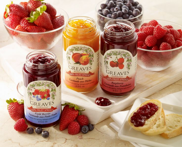 Now that is a fruit spread!   All-natural, tastes like the real fruit, sweetened only with apple juice concentrate, not too sweet with only 1/3 of the calories of our regular jam and 1/3 the carbohydrates.
