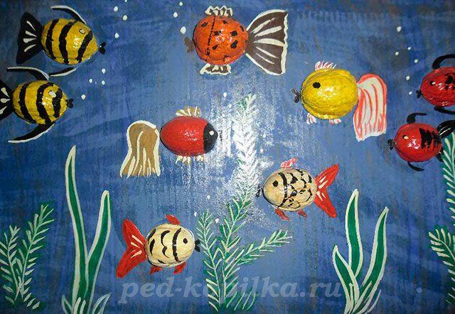 Поделка. Рыбки