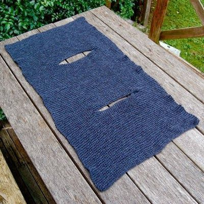 DIY: Cómo hacer un chaleco con un rectángulo de tela   Aprender manualidades es facilisimo.com