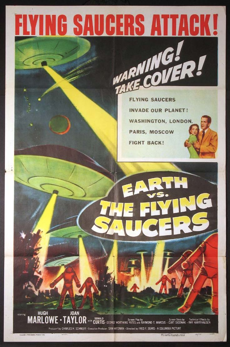 Science Fiction 1950-1959 - 100 Years of Movie Posters - 11
