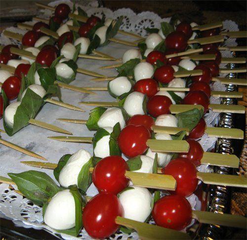 Ciliege di mozzarella e pomodorini