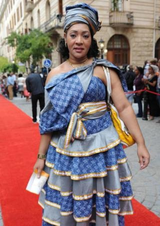 SONA 2013 Fashion   Bridgett Kganari   IOL.co.za