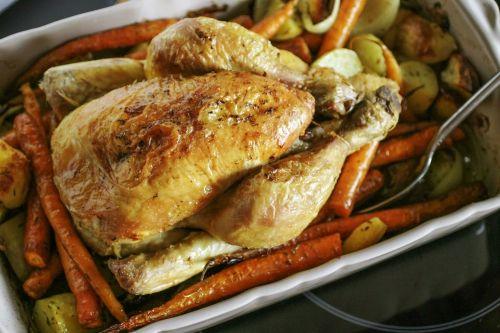 gebraden-kip-met-groenten