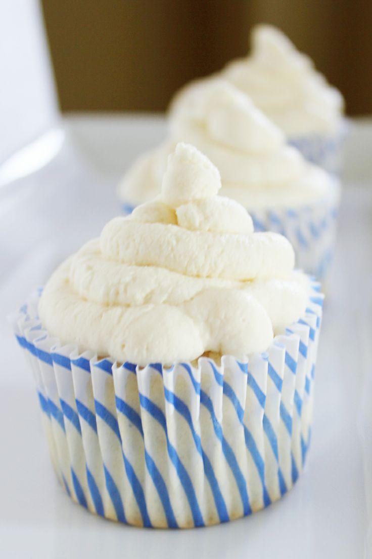 Angel Food Cupcakes. Recipe.