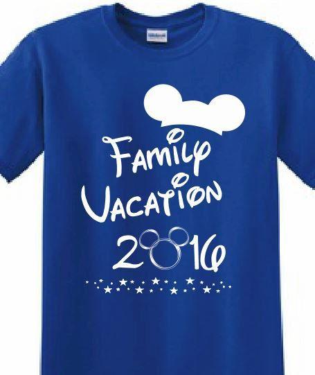 Disney, Mickey Mouse, Magic Kingdom, Customized  Printed T-shirt Family Reunion Kids Birthday Personalized Family Trip Disney World by ApolloUniforms on Etsy