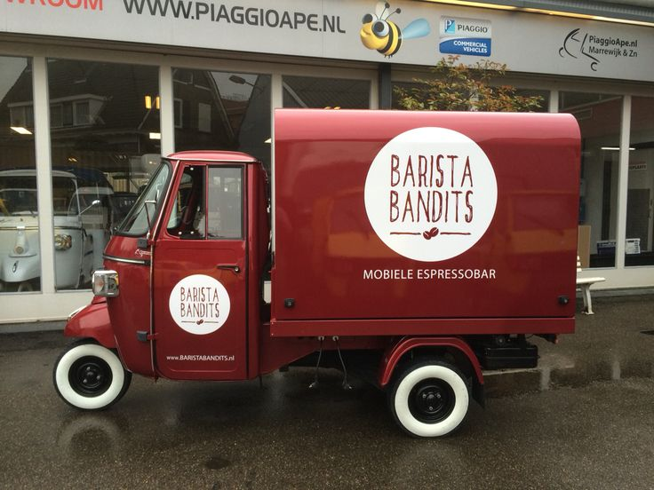 Piaggio Ape Classic 400, with salesunit